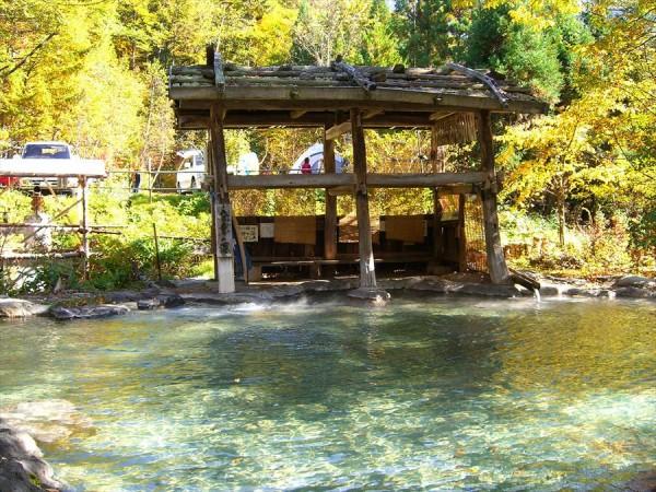 中尾温泉 合掌の森 中尾キャンプ場