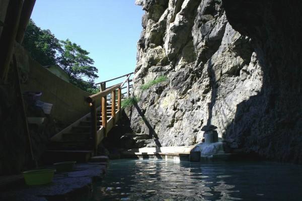 松川温泉 松楓荘 洞窟風呂